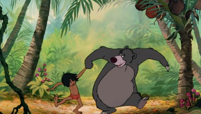 "fad0275d07e Jungle-Book-Baloo-9 ""Look for the bare necessities."